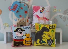 Tooth Fairy Cushions