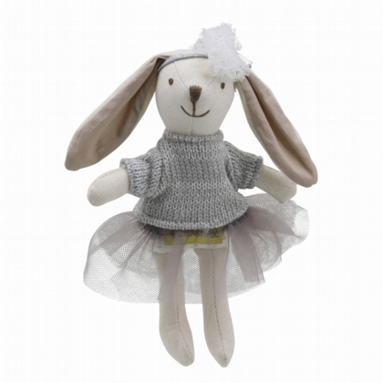 Wilberry Collectables Rabbit Girl (grey)