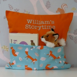 Bright Foxes Storytime Cushion