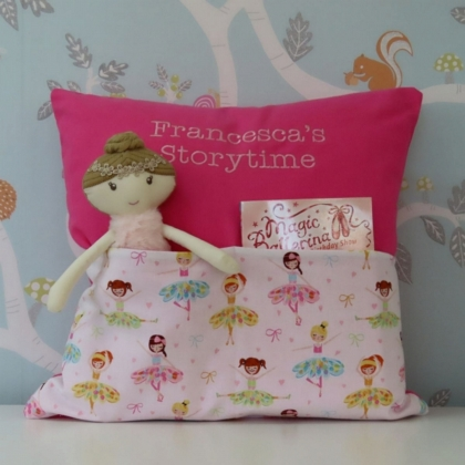 Ballerinas Storytime Cushion