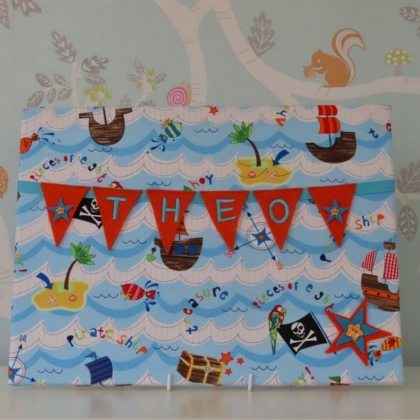 Pirate Seas Large Bunting Board