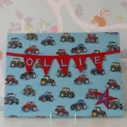 Tractor Large Bunting Board