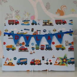 Traffic Large Bunting Board