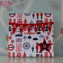 Contemporary London Mini Bunting Board