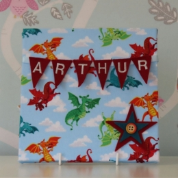Dragons Mini Bunting Board