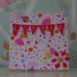 Fairies Mini Bunting Board