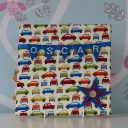 Vintage Cars Mini Bunting Board