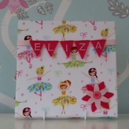 Ballerinas Mini Bunting Board