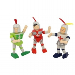 Flexi Knight Figures
