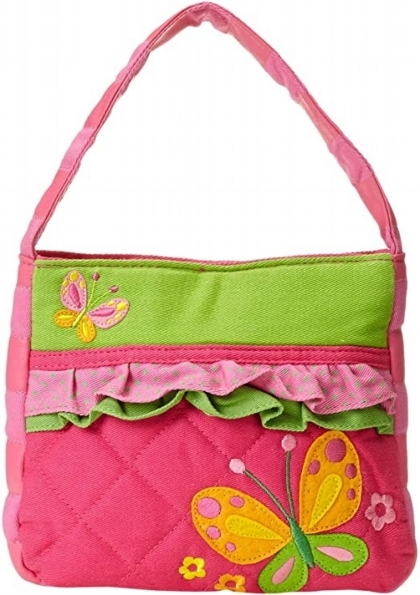 Butterfly Quilted Handbag