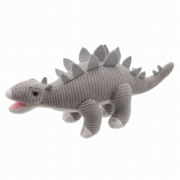 Wilberry Knitted Stegosaurus