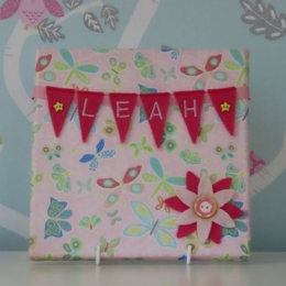 Butterfly Mini Bunting Board