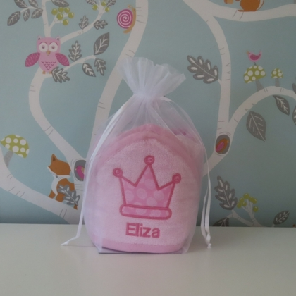 Crown Design Hooded Towel