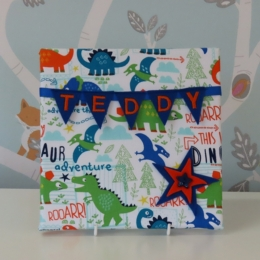 Dinosaur Roar Mini Bunting Board
