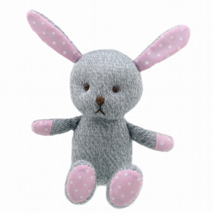 Wilberry Knitted Grey Rabbit