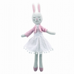 Wilberry Linen Rabbit in Dress