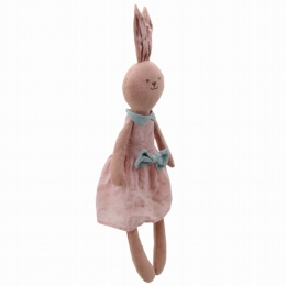 Wilberry Linen Pink Rabbit