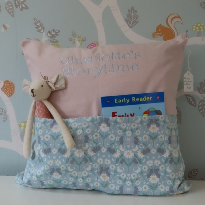 Meadow Mouse Storytime Cushion