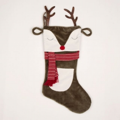 Reindeer Stocking      (Personalisation Option)