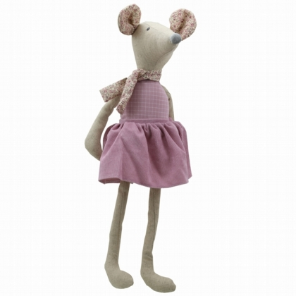 Wilberry Linen Large Girl Mouse