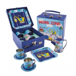 Construction Tea Set