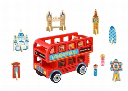 London Bus Play Set